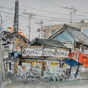 東京・旧日光街道沿いの団子屋