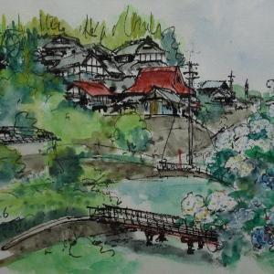 大阪枚方・穂谷の集落