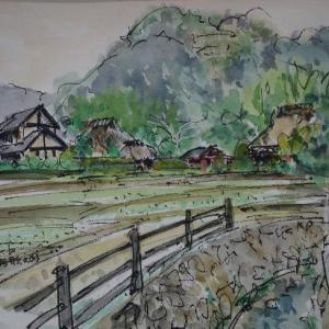 京都・鳥居形の見える景色