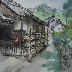 大阪交野・寺のまちなみ2