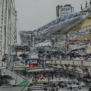 大阪・大阪駅御堂筋口を