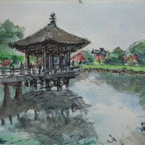 奈良・浮御堂