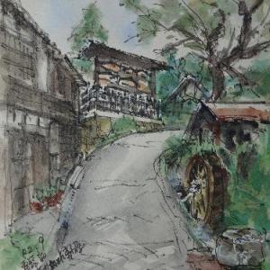 長野南木曽・高札場