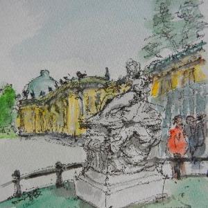 ポツダム・宮殿にある王の墓