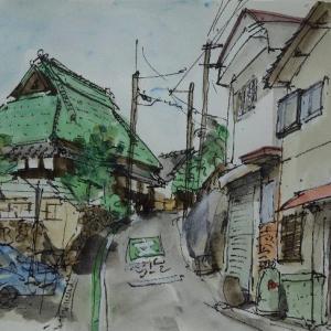 大阪柏原・河内国分本町の旧家