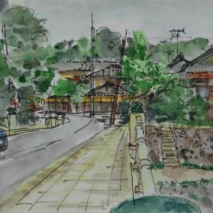 京都・御蔭橋より