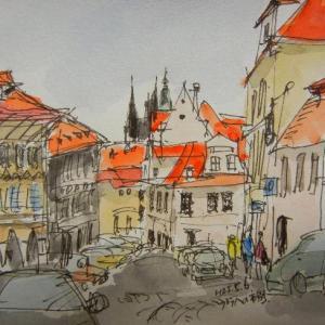 チェコプラハ・まちなみ