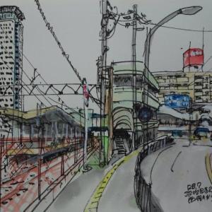 大阪吹田・JR吹田駅を西側から