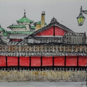 京都・一力茶屋と弥生会館