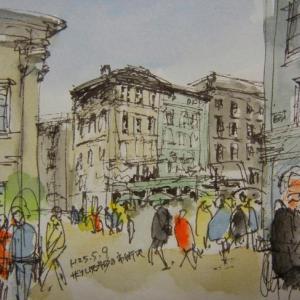 ザルツブルク・旧市場広場(アルターマルクト)