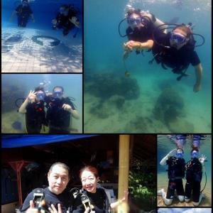 北の大地から南国ヘ!@コーラル島体験ダイビング