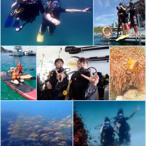卒業旅行で体験ダイビング!@ラチャヤイ島