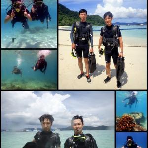 本日は賑やかだったコーラル島でのダイビングです!