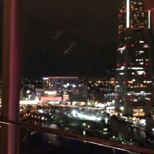 横浜 観覧車からの夜景