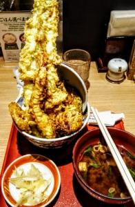 【造形美】天婦羅えびのやセレオ八王子店の穴子天丼