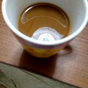 夫のコーヒー
