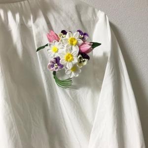 NHKカルチャー水戸 春の花束コサージュ第1回
