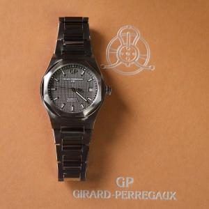 ジラール・ペルゴ 生産終了 ロレアート38MM グレー文字盤