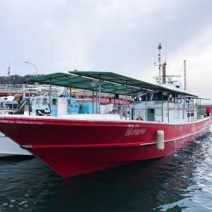 今年初の船釣りは三邦丸さんのタチウオ釣り、ところが何と!!!