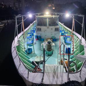 続き、ヤザワ渡船での神戸沖テンヤタチウオ釣り!