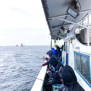 ヤザワ渡船、テンヤタチウオ釣り!