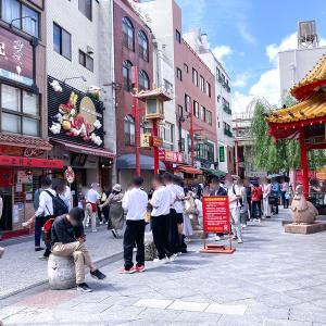 神戸南京町、焼小籠包・焼ビーフンの「YUNYUN」さんてテイクアウト!
