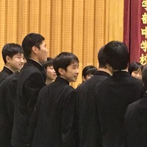 次男の指揮者姿と長男、大学入試!