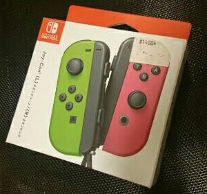安い!コストコでニンテンドースイッチのジョイコンを買いました!【Nintendo Switch】Joy-Con(L) ネオングリーン/(R) ネオンピンク 任天堂 [HAC-A-JAFAA NSWジョイコンネオングリーン]こどもの日や誕生日プレゼントに!