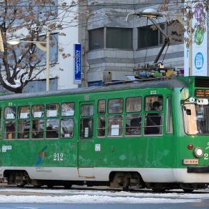 2020年2月20日 札幌市電撮影
