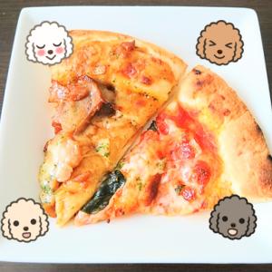 イオン ピザ 『 バジル香る手伸ばし本格風マルゲリータ & もっちり生地の照り焼きチキンピザ 』