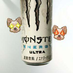 アサヒ飲料 『 モンスター エナジー ウルトラ Monster Energy Ultra 』 美味しいエナジードリンク♪