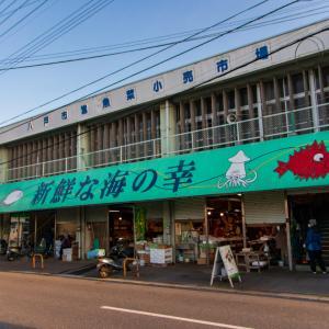 改修工事による閉店の前に…八戸市営魚菜市場で豪華な朝ごはん♪