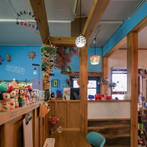 dining&cafe ikoiさんでウニのクリームパスタ&パフェ