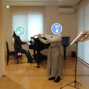 【吹奏楽個人コンクール】伴奏合わせレッスン&録音 スーパー小学生☆