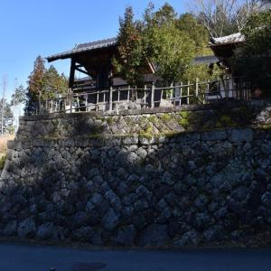 旧苗木藩の城下町を歩く
