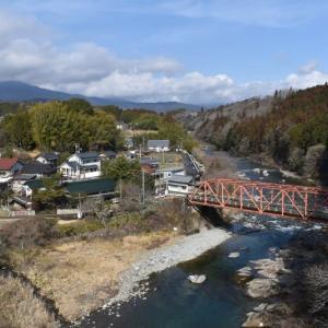 高山大橋周辺を歩く