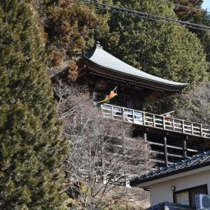 中山道 須原宿の「岩出観音」