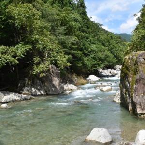 飛騨小坂の「小黒川」を遡る