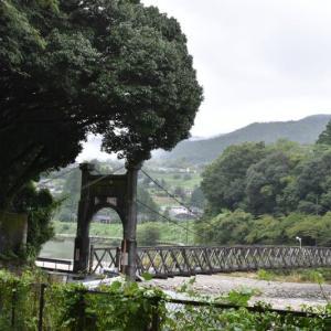 落合ダムに流れ込む落合川
