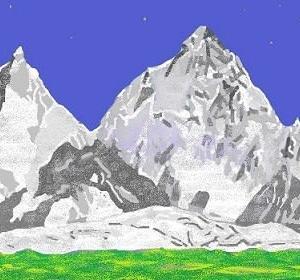 山で山を・・・