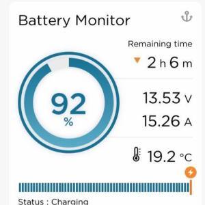 バッテリーモニターに水位計を追加