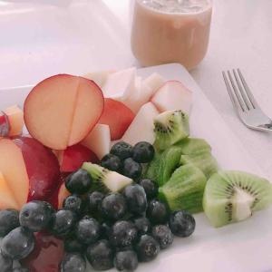 朝フルーツ