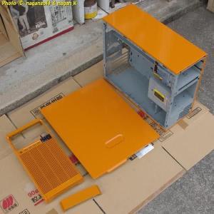 PCオーディオ構築 - 筐体の塗装