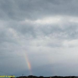 なんて日曜日なんだよ、でも虹を見たよ