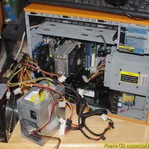 PCオーディオ、電源交換してみる