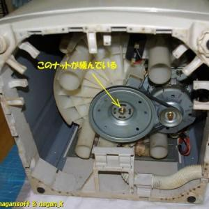 再び、後輩の洗濯機修理--日立NW-42F7