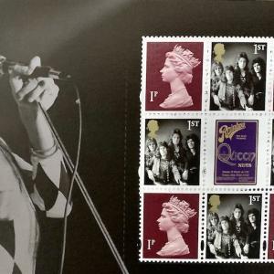 結成50周年記念🎊Royal MailのQueenの切手