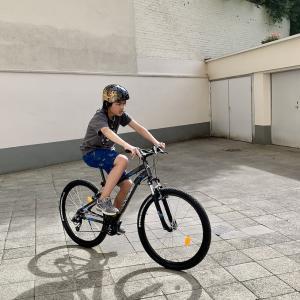 VTTでサイクリング