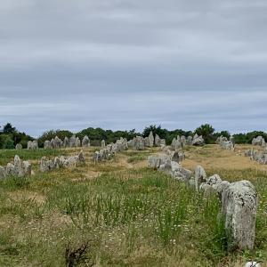 Carnacの列石を見に行く