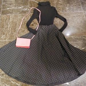 500円?!可愛すぎるUNIQLOのスカートを購入♡フィフスの400円のレースキャミも♡